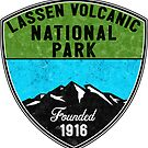 LASSEN VOLCANIC NATIONAL PARK CALIFORNIA MOUNTAINS HIKE HIKING CAMP CAMPING 2 by MyHandmadeSigns