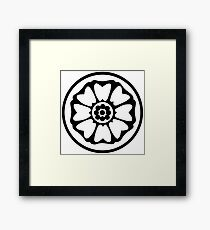 Avatar - White Lotus Framed Print
