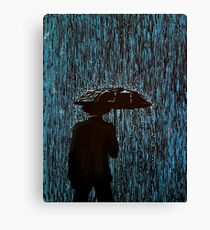 Caught In The Rain #2 Canvas Print