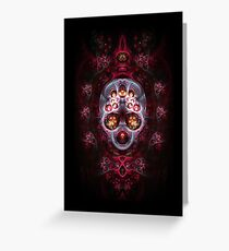 Danse Macabre Greeting Card