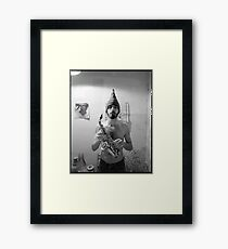 Bob the Groove Framed Print