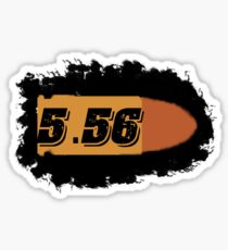 556 5.56 ammo can sticker label AR 15 Sticker