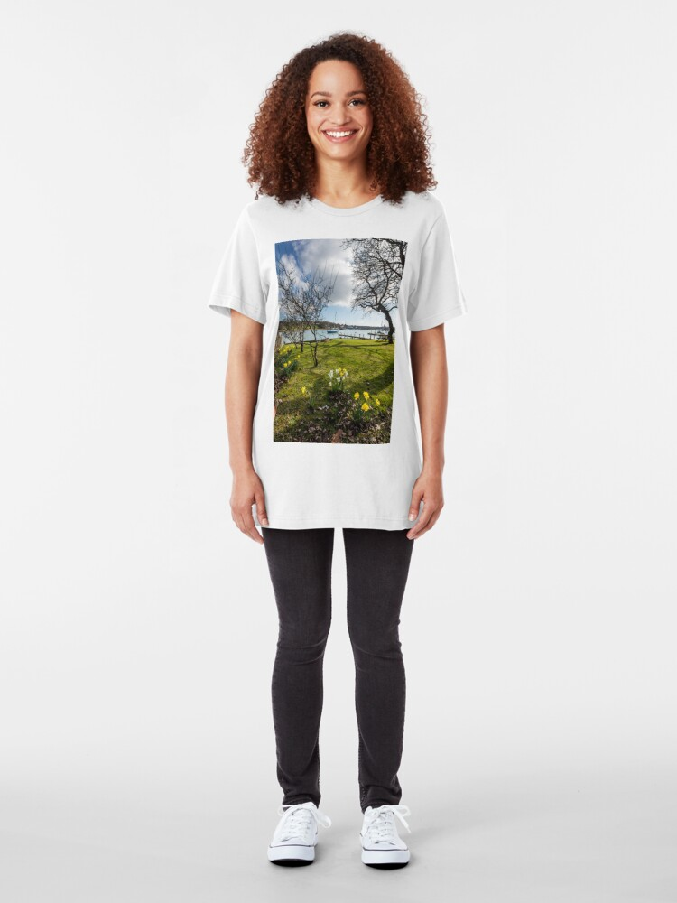 Alternate view of Spring At The Creek Slim Fit T-Shirt