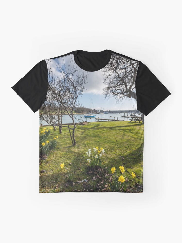 Alternate view of Spring At The Creek Graphic T-Shirt