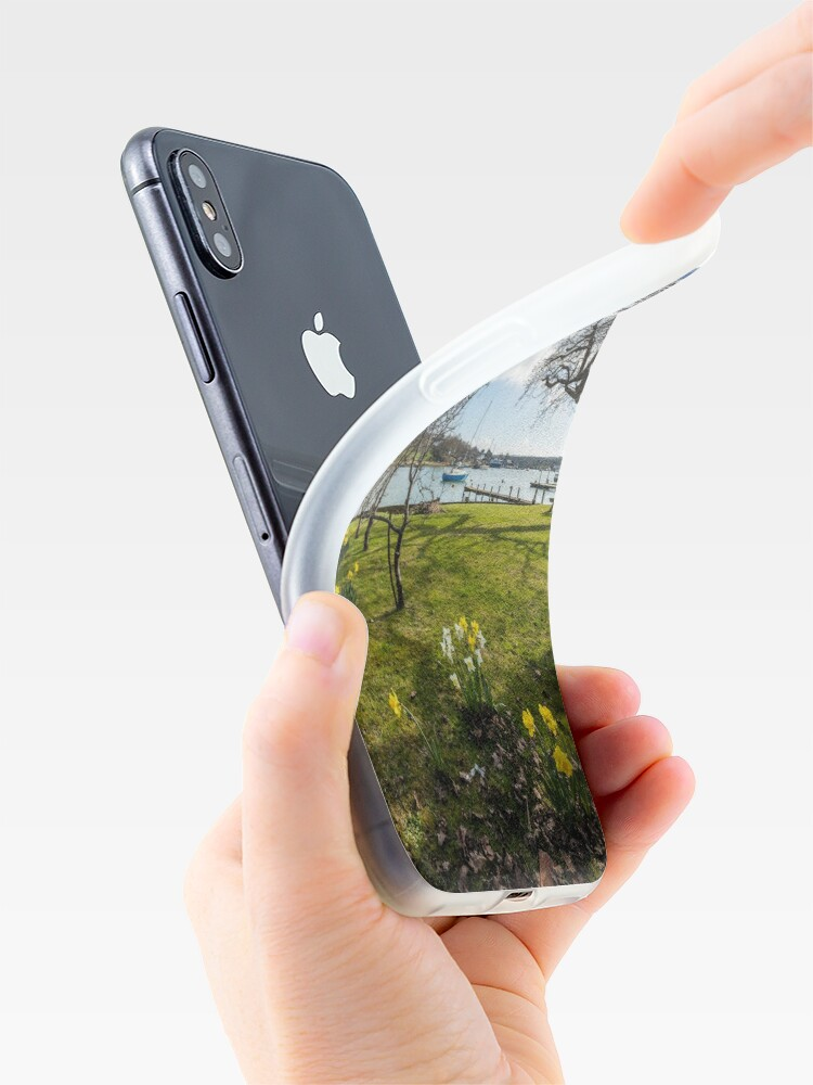 Alternate view of Spring At The Creek iPhone Cases & Covers