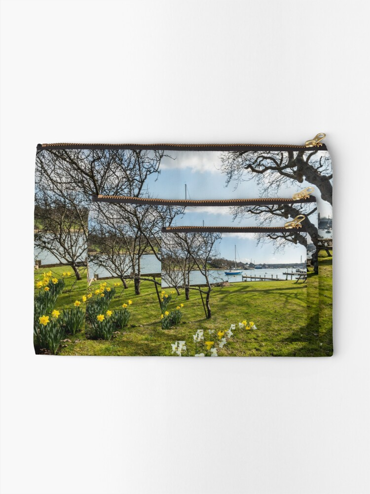 Alternate view of Spring At The Creek Zipper Pouch