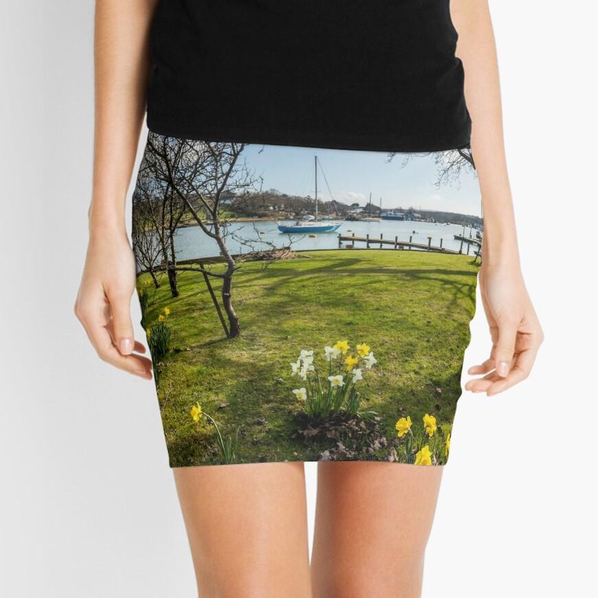 Spring At The Creek Mini Skirt