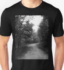 Along a Dark and Lonely Path Unisex T-Shirt