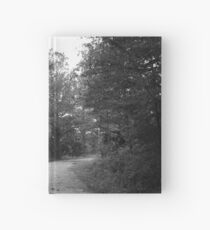 Along a Dark and Lonely Path Hardcover Journal