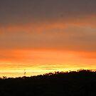 Barden Ridge sunset by veins
