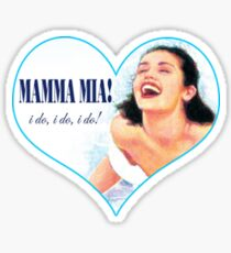 Mamma Mia! Sticker