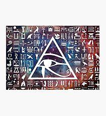 Horus eye Galaxy Photographic Print