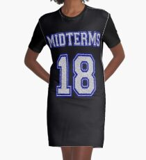 Midterms 2018 Graphic T-Shirt Dress