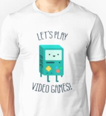 Let's Play Video Games Unisex T-Shirt