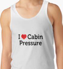 I Love Cabin Pressure Tank Top
