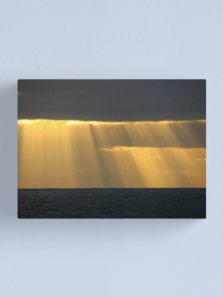 Alternate view of The Veiling Canvas Print