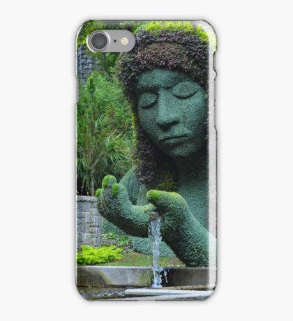 She is the giver of life and water iPhone Case/Skin