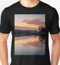 Dawn At The Old Millpond T-Shirt