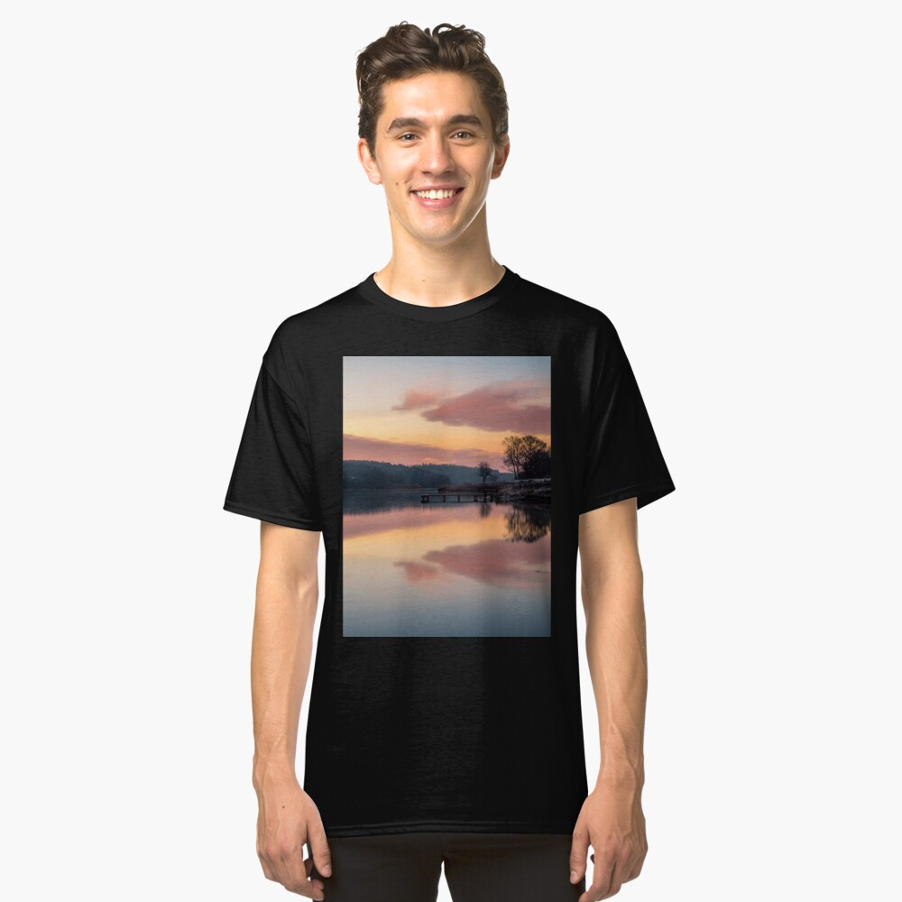 Dawn At The Old Millpond Classic T-Shirt