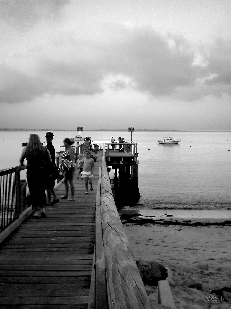 On the Wharf. by Vee T