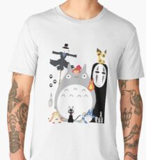 Studio Ghibli Gang Men's Premium T-Shirt