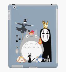 Studio Ghibli Gang iPad Case/Skin