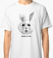 Teemo Is Fed - White Classic T-Shirt