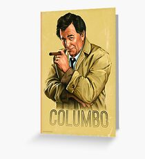 Columbo - TV Series Greeting Card