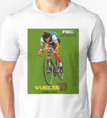 VUELTA SPAIN: Vintage Bike Racing Advertising Print Unisex T-Shirt