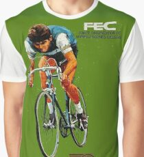VUELTA SPAIN: Vintage Bike Racing Advertising Print Graphic T-Shirt