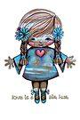 Love is a Big Hug by Karin Taylor