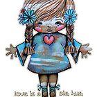 Love is a Big Hug by © Karin Taylor