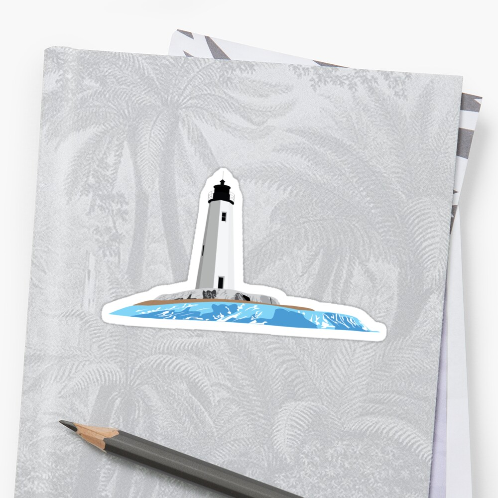 New Point Comfort Lighthouse Sticker