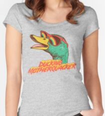 Ducking Motherquacker Women's Fitted Scoop T-Shirt