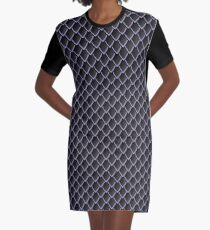Dragon Scales (Black) Graphic T-Shirt Dress