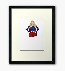Superhero (Upper Half) Framed Print