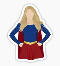 Superhero (Upper Half) Sticker