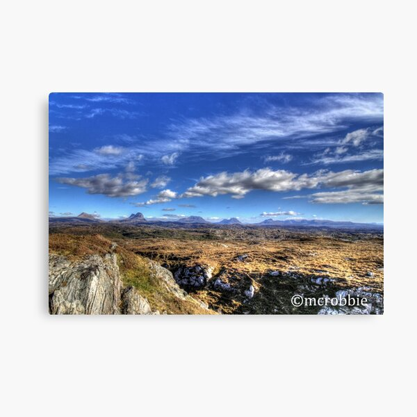 Assynt View Canvas Print