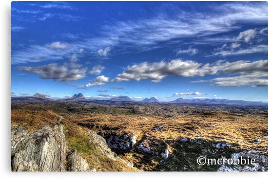 Assynt View by Alexander Mcrobbie-Munro