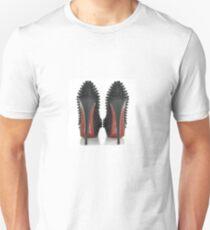 Christian Louboutin T shirts Tee shirts Tees Red Bottoms Shoes  Unisex T-Shirt
