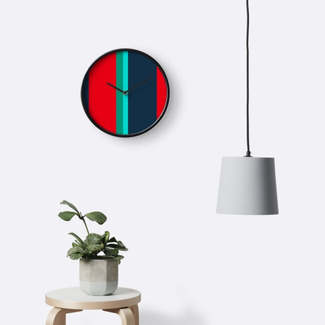 Minimalist Retro Pattern by IdeasForArtists