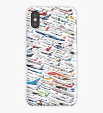 Airliners by The Art of Flying iPhone Case/Skin