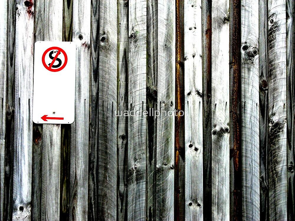 No Standing  by waddellphoto