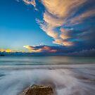 Little Rock Sunset by manateevoyager