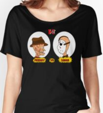 Horror TV Freddy vs Jason Women's Relaxed Fit T-Shirt