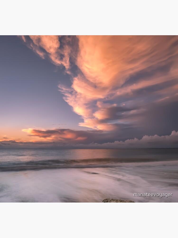 Little Rock Sunset #2 by manateevoyager