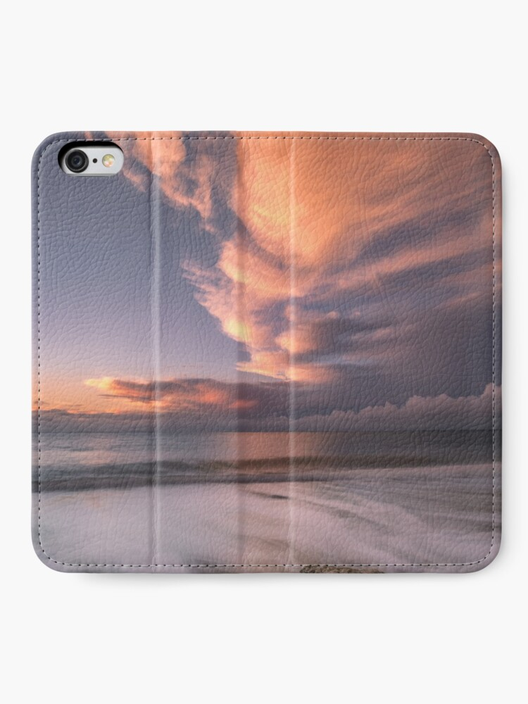 Alternate view of Little Rock Sunset #2 iPhone Wallet