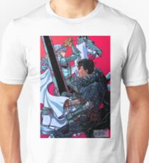 The Black Swordsman versus The White Hawk T-Shirt