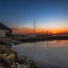 Newtown Quay at Sunset by manateevoyager