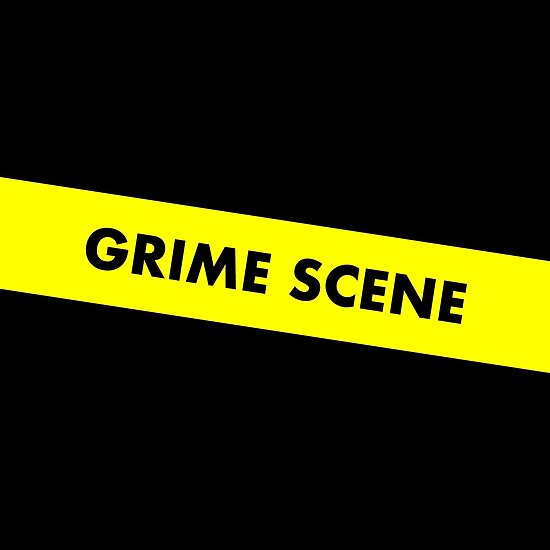 grime scene do not cross tape posters by lukassfr redbubble